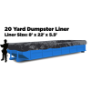 20 Yard Dumpster Liners