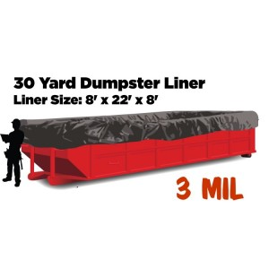 30 Yard Dumpster Liners