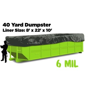 40 or 50 Yard Dumpster Liners
