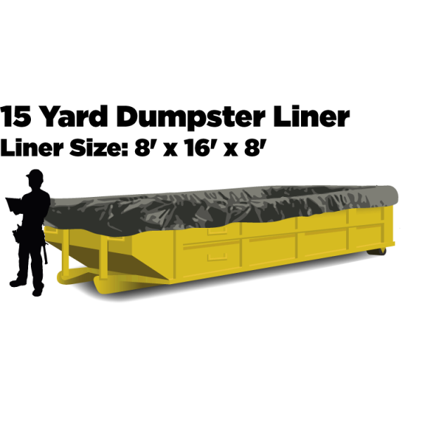 15 Yard Dumpster Liners