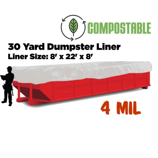 Compostable Dumpster Liners