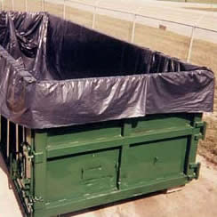 roll off dumpster liner